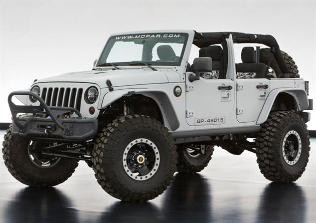 2013 Moab Easter Jeep Safari Concepts | HiConsumption
