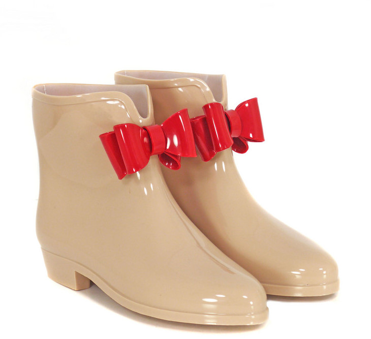 SHOESBootie Bow Putty Boots - Vivienne Westwood - Polyvore