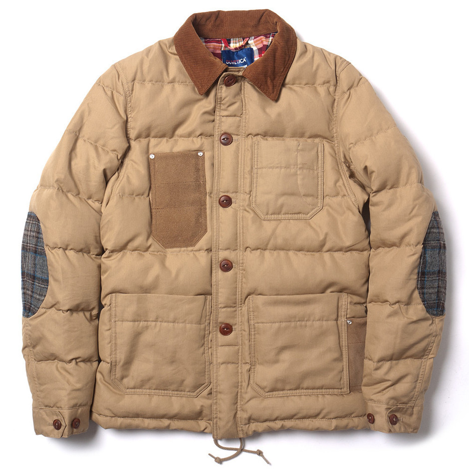 """HAVEN — x Duvetica """"Trittolemo"""" Quilted Down Jacket"""