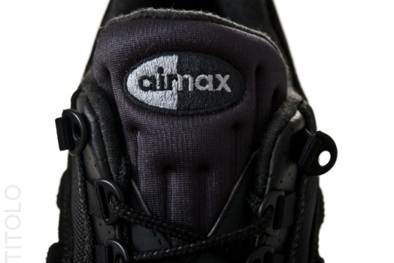 Nike Air Max 95 Premium – Black – Anthracite | SneakerNews.com