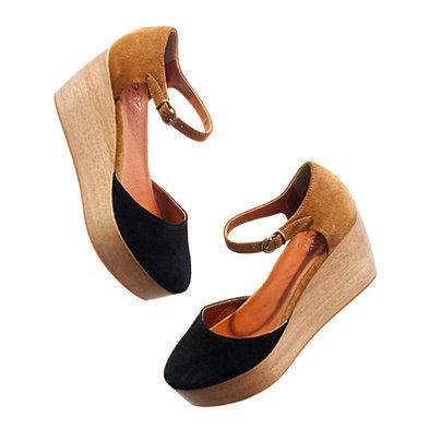 Women's NEW ARRIVALS - colorblock - The Two-Tone Flatstack Platform - Madewell