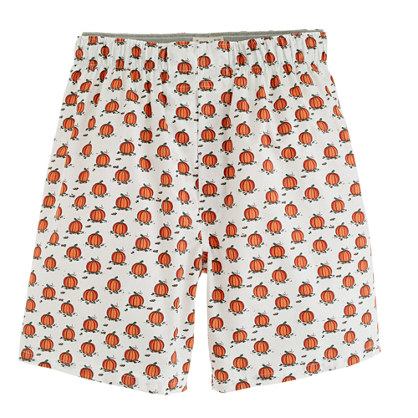 Pumpkin patch boxers - woven boxers - Men's underwear & sleepwear - J.Crew