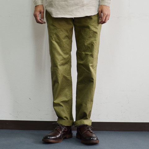 A VONTADE-CLASSIC CHINO TROUSERS - : acoustics stylus