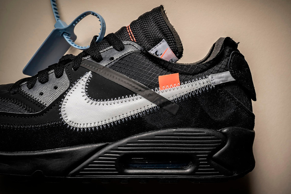 """【Off-White™ × NIKE】2月9日(土)日発売予定 AIR MAX 90 """"BLACK""""   UP TO DATE"""
