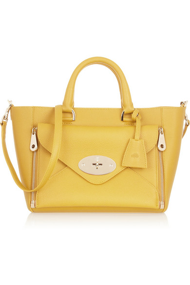 Mulberry | The Willow small leather tote | NET-A-PORTER.COM