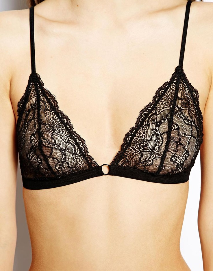 ASOS | ASOS Chloe Lace Triangle Bra at ASOS