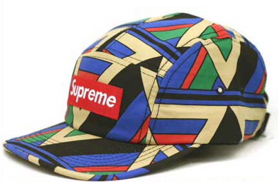 Supreme Geometric Camp Caps ($50-100) - Svpply