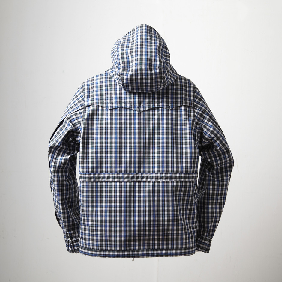 T/C Broad Check GORE-TEX Mountain Parka | EYESCREAMJP