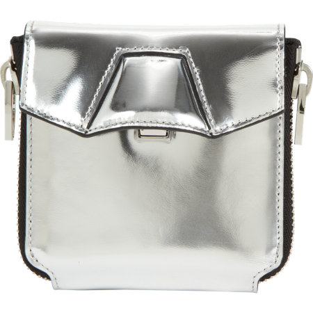 Alexander Wang Quillon Compact Wallet Sale up to 70% off at Barneyswarehouse.com