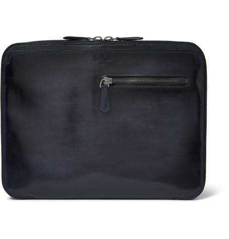 Berluti - Au Grand Jour Polished-Leather Pouch