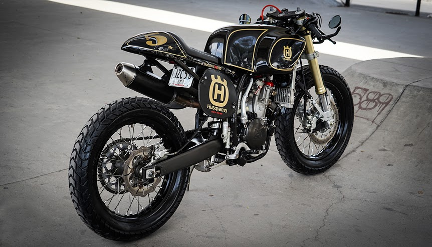 Dirty Deed - Husqvarna Cafe Racer ~ Return of the Cafe Racers