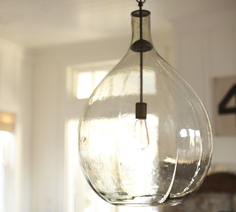 Clift Glass Pendant | Pottery Barn