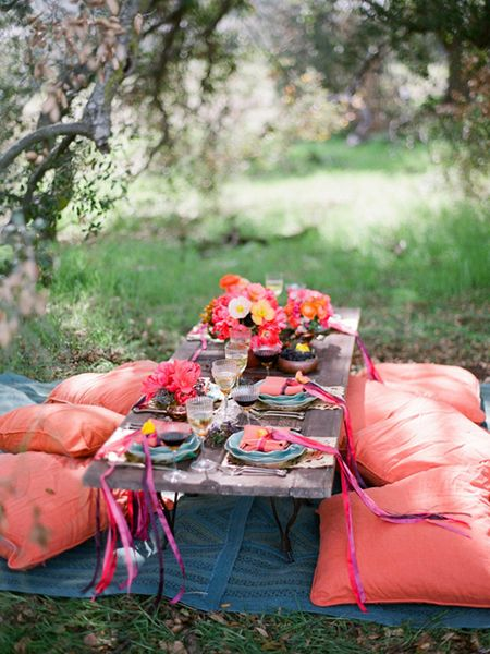 Outdoor dining for a girl luncheon or shower? ... | i ♥ Picnics & Gar…