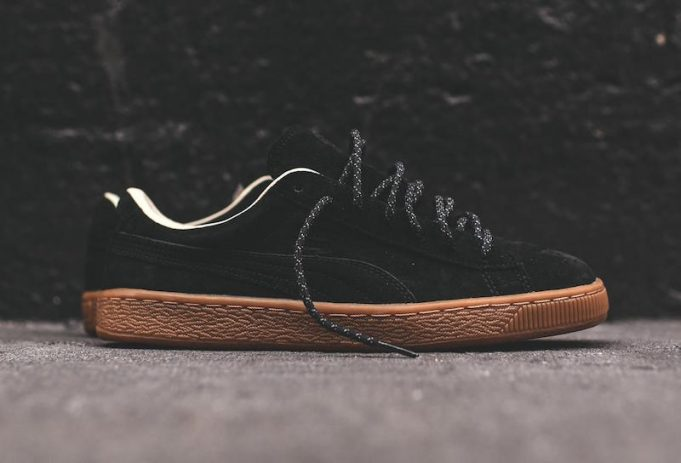 PUMA Basket Classic Winterized Black Gum - Sneaker Bar Detroit