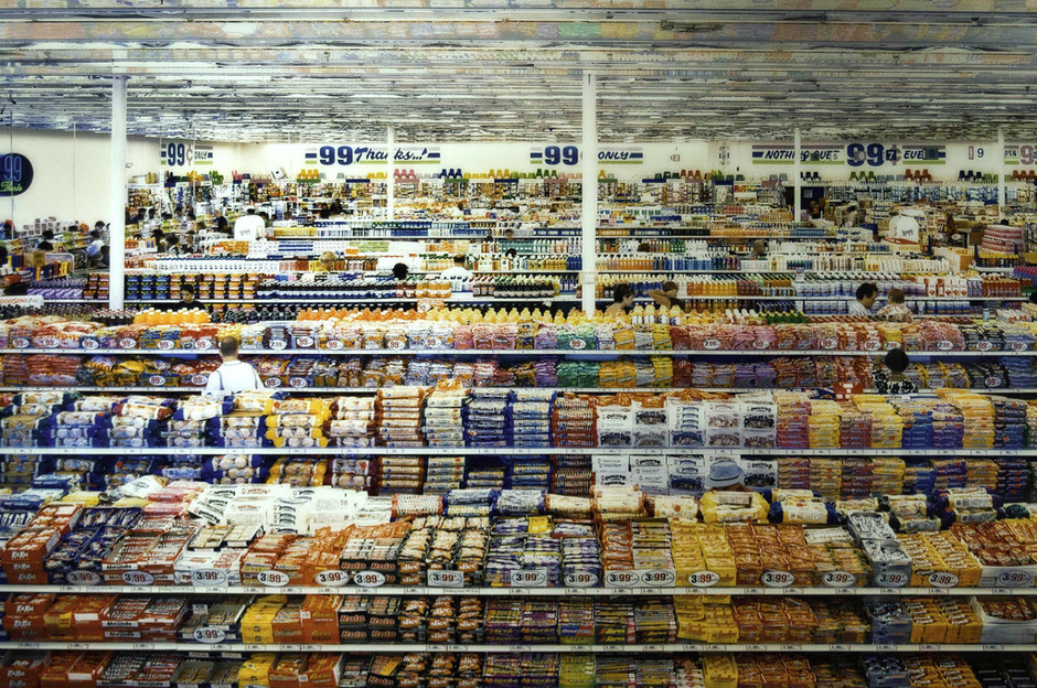 """Andreas Gursky's """"99 Cent"""" 