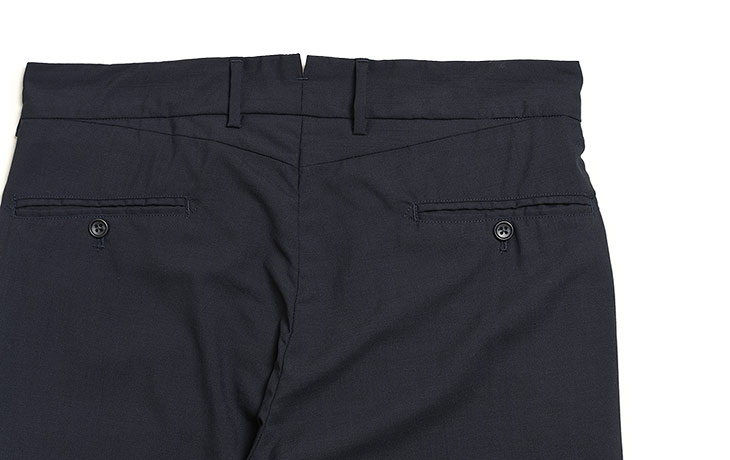 ENGINEERED GARMENTS/Andover Pant-Tropical Wool Cordura-Dk.Navy