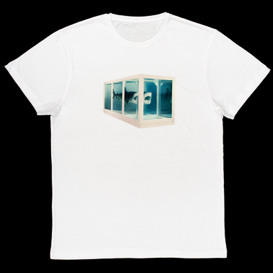 """""""Damien Hirst """" Physical Impossibility t-shirt at Tate Online Shop"""