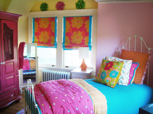 Colorful Teen Bedrooms : Rooms : Home & Garden Television