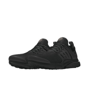 Air Presto By You 846438-998 Black/Black/Black