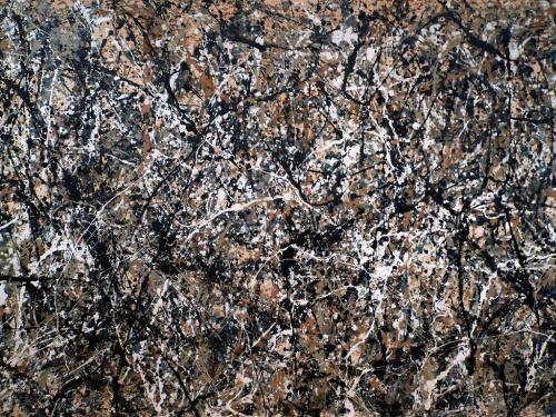 Jackson Pollock | Everything like, such-as.