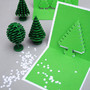 Christmas pixel popup cards | Mini-eco