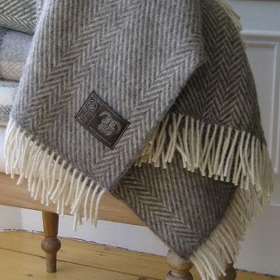 Design Sleuth: Jacob Wool Blankets and Throws: Remodelista