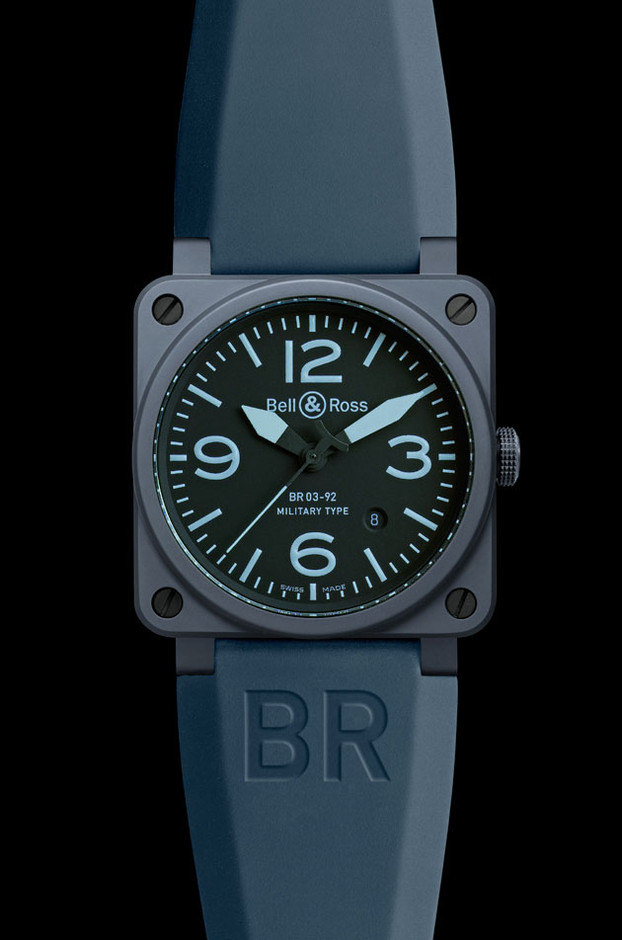 Bell & Ross | Blue Ceramic | F.TAPE | Fashion Directory