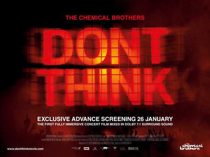 """""""DON'T THINK"""" - EXCLUSIVE ADVANCE FILM SCREENINGS ANNOUNCED! 