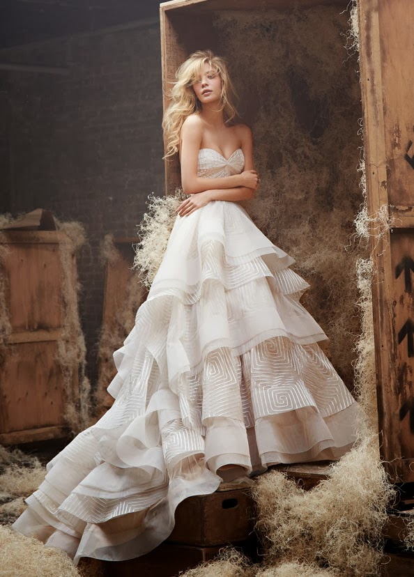 Stunning Wedding Dresses by Hayley Paige ‹ ALL FOR FASHION DESIGN