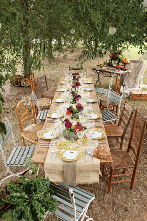 10 INVITING AL FRESCO DINING AREAS | the style files
