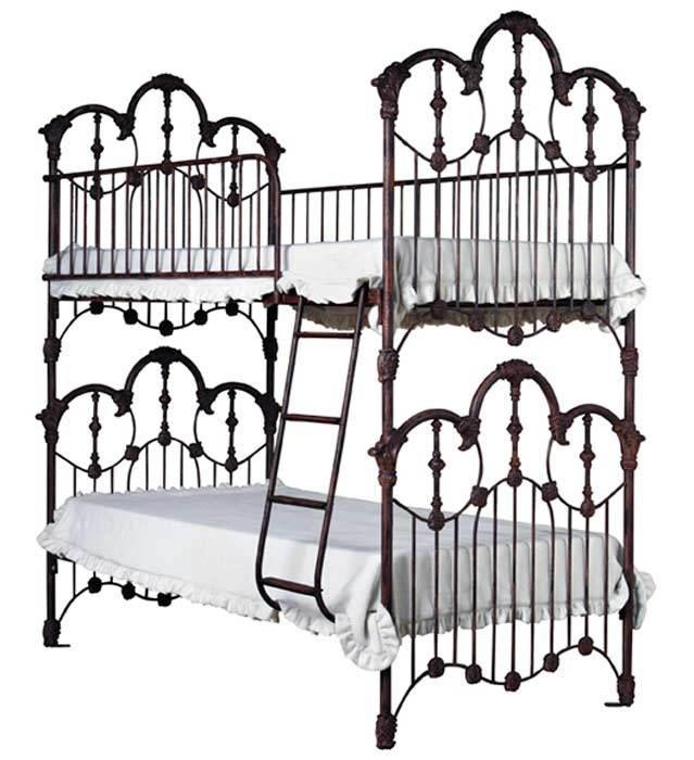 Ornate Victorian style bunk beds | Decor, Objects, etc.