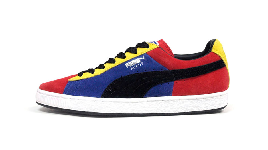 SUEDE STRIPES & BLOCKS 「LIMITED EDITION」 RED/PPL/YEL/BLK プーマ Puma | ミタスニーカーズ|ナイキ・ニューバランス スニーカー 通販