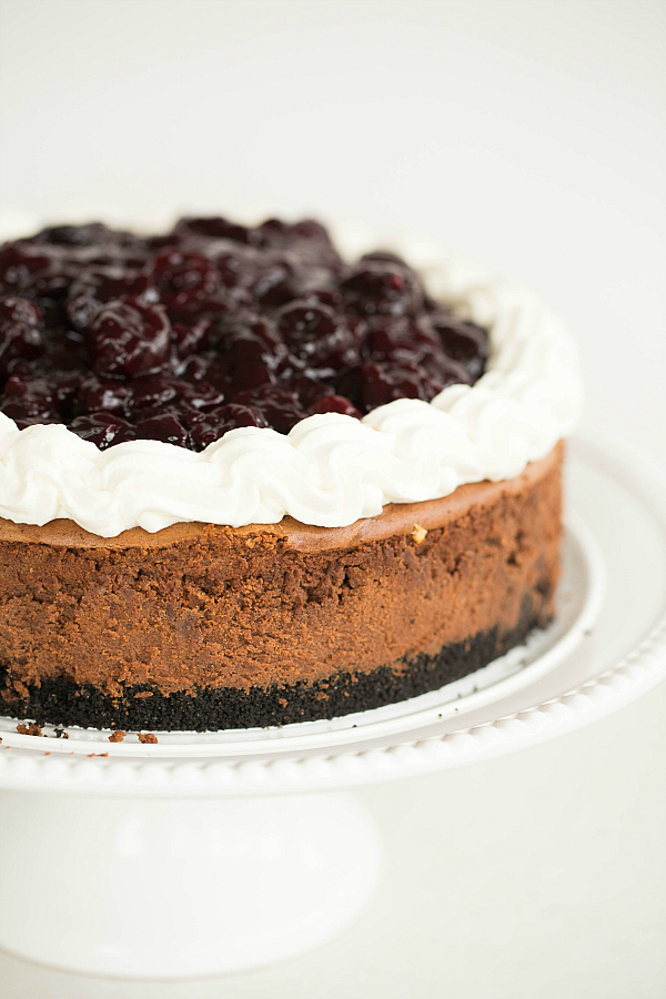 Black Forest Cheesecake Recipe   Brown Eyed Baker