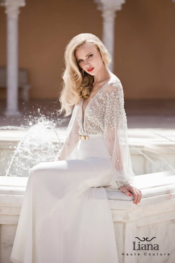 Fancy & Luxurious Wedding Dresses by Liana   ALL FOR FASHION DESIGN