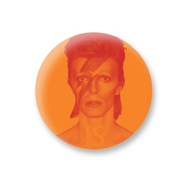 'David Bowie is' Pin Badge||EVAEX : All