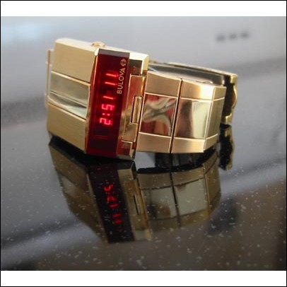 Bulova Driver Led Watch in NOS condition N7 (Auction ID: 100689, End Time : Dec. 18, 2008 21:26:15) - Seller-City