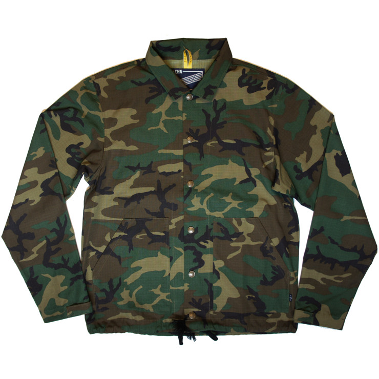 CAMO COACH JACKET | THE ONE SHOW × THE FABRIC | ONEline store