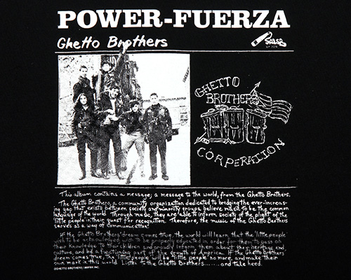 BBP ONLINE STORE - Ghetto Brothers x BBP Power Fuerza Tee