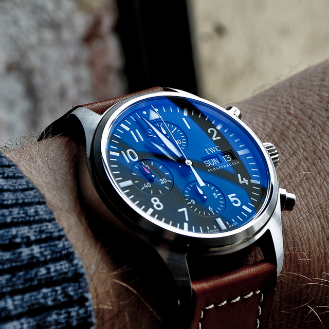 Fancy - IWC 3717 Pilot's Chronograph