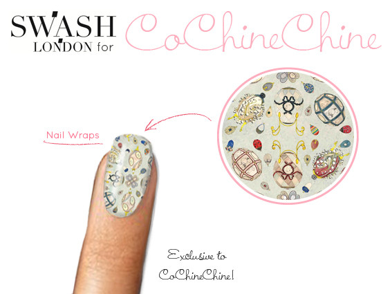 Swash For Cochinechine Nail Wraps - Cochinechine Exclusives -