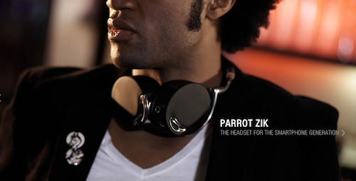 Zik Parrot design by Starck - Specifications