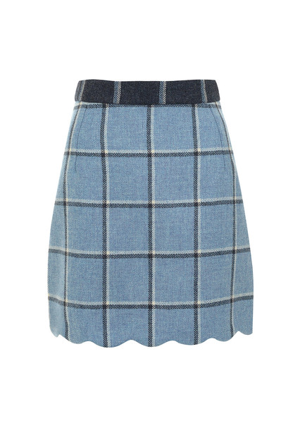Blue Coco Skirt – House of Holland
