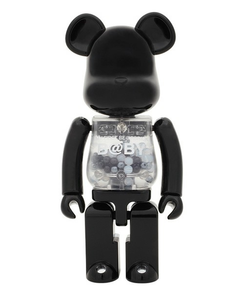 BE@RBRICK / 超合金 MY FIRST BE@RBRICK B@BY (BLACK & SILVER Ver.)(フィギュア) - ZOZOTOWN