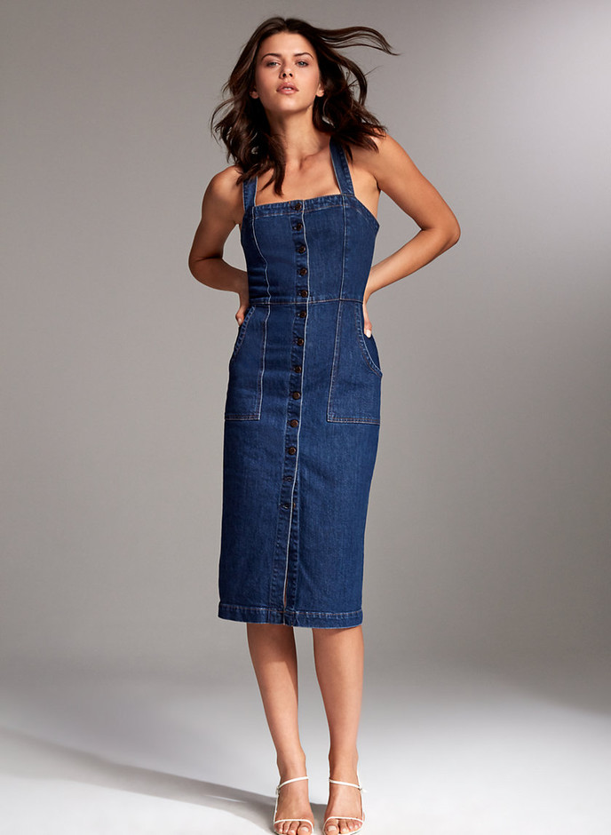 Denim Forum THE JACLYN DRESS | Aritzia CA