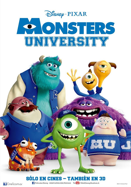 A113Animation: New Monsters University Posters and Mother's Day Spot
