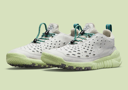Free Trail Run - Light Smoke Grey/Teal Green/Barely Lime?