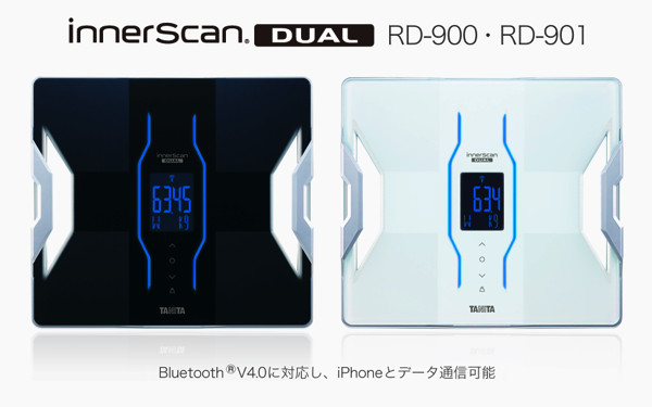 [N] タニタの体組成計「InnerScan Dual」BluetoothでiPhoneと連携