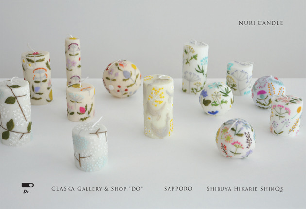 "NURI CANDLE | 2016.10 | EXHIBITION & FAIR | CLASKA Gallery & Shop ""DO"""