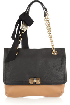 Lanvin | Happy Medium leather shoulder bag | NET-A-PORTER.COM