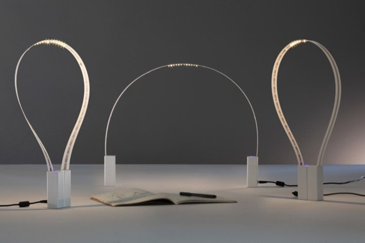 1 | A Flexible Desk Lamp Made From A Ribbon Of LEDs | Co.Design: business + innovation + design